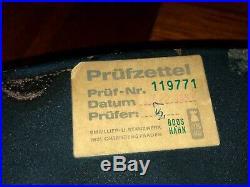 Original BMW Enamel Sign Porcelain Service Vintage 1960s MINT Dealer Car Bike