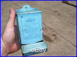 Original GM CHEVROLET dash automobile promo vintage dealer holder case box 30s