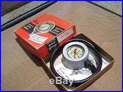 Original GM CHEVROLET nos 50s dash auto promo vintage Gauge vacuum mileage gas