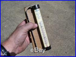 Original GM CHEVROLET nos 50s dash auto promo vintage dealer Gauge thermometer