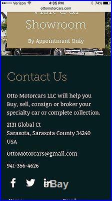 Original VINTAGE MERCEDES DEALERSHIP SERVICE DEALER AUTO CAR Garage Shop Sign