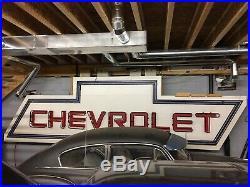 Original Vintage Chevrolet Dealership Neon Sign