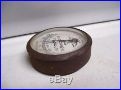 Original vintage 1930s Automobile visor Thermometer gauge gm auto part bomba