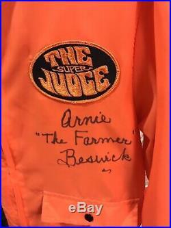 Pontiac GTO The Judge Jacket Arnie Beswick Rare Vintage NOS