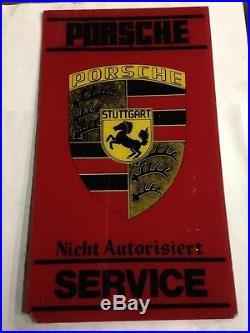 Porsche Diesel Tractor/car Vintage Sign