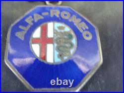 Portachiavi vintage Alfa Romeo