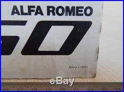 Promo Originale Dealer's Alfa Romeo Giulia 1750 Vintage