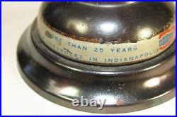 RARE Vintage Chevy Dealership Service Desk Bell Superior Chevrolet Indianapolis