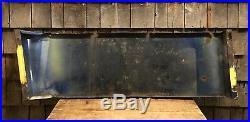 RARE Vintage Old FORD Auto Car Dealer Service Station Porcelain Sign 43x14