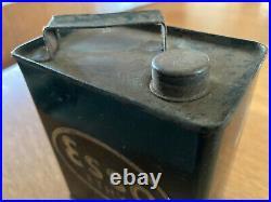 RARE Vintage Pedal car Fuel Can ESSO ETHYL 1930's garage man cave advertising