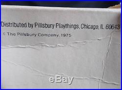 RARE Vtg Uncle's Rollie Car Pillsbury Doughboy PVC Puppet Original Box 1974 EUC