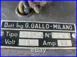 Radio Condor Razzo 2 Gallo Per Auto Epoca Lancia Alfa Romeo Fiat Old Vintage