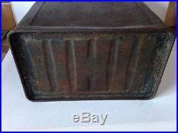 Rare Alexander Duckhams & Co Ltd Morisol vintage 2 Gallon Metal petrol can Tin