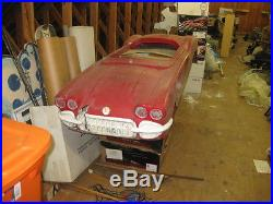 Rare Vintage 58 59 60 Corvette Dealer Promotional Yardman Go K Art Art