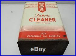 Rare Vintage Large Mopar Fabric Cleaner Can Desoto Plymouth Chrysler Dodge