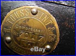 Rare Vintage Michelin Man Compressor Transport Collectable Petrol Pumps No7017