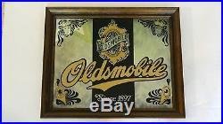 Rare Vintage Oldsmobile Dealer Showroom Novelty Bar Mirror, Find Another
