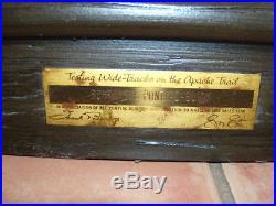 Rare, Vintage Pontiac Dealer Gm Award Item 1963 1964, Large Framed Dealership Item