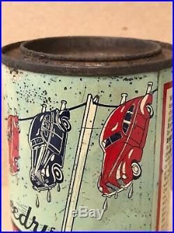 Rare Vintage Whiz Speedry Powdered Car Wash Can Vintage Cars On Line