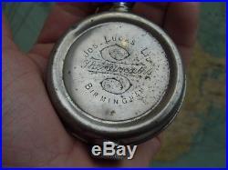 Rare Vtg Joseph Lucas The Coventry Folding Oil Can Motorcycle Tool Kit Bsa Rudge