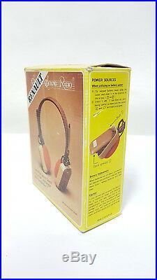 Sound radio cuffia renault vintage anni 70 strutman 007 gadget
