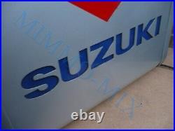Suzuki Motorbike Dealer Dealership Offical Sign Vintage Motorcycle Car Light Up