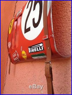 TAG Heuer Chronograph Steve McQueen Ferrari Monaco Race car Fender panel vintage