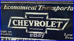 VINTAGE CHEVROLET SIGN. No reserve