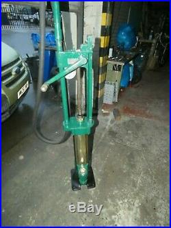 VINTAGE PETROL PUMP SUPERB WAYNE SKELETON petrolania COLLECTABLE AUTOMOBILIA