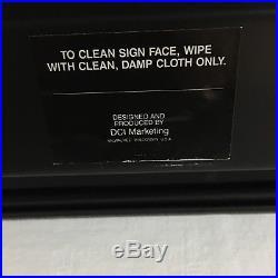 VW Vintage Emblem Logo Framed Wall Art Dealership Promotion Sign
