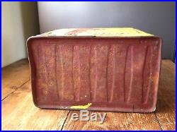 Vintage 1930s Shell Mex & Bp Ltd Aviation Spirit Fuel Petrol Oil Can & Brass LID