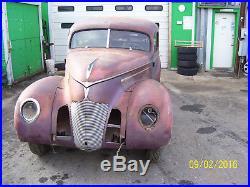 Vintage 1939 hudson 2 dr sedan automobile