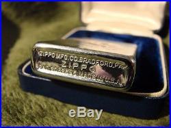 Vintage 1940s 50s Zippo Lighter Lincoln Mercury Automobile Advertising Car NOS