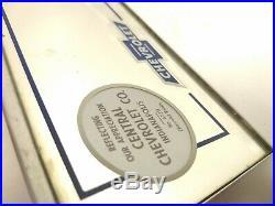 Vintage 1940s Chevrolet Dealership Visor Vanity Mirror Chevy Bowtie Indianapolis