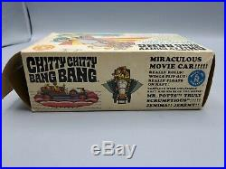 Vintage 1968 Mattel Chitty Chitty Bang Bang Miraculous Movie Car Complete in Box