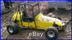 Vintage 1968 half midget racecar + trailer + parts owned by Henry Spook Casper