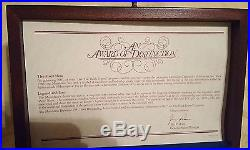 Vintage 1980 Montblanc Meisterstuck Diplomat 149 Fountain Pen 14k in Award Box