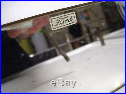 Vintage 50s Ford original Visor service Vanity MIRROR auto kit promo part old
