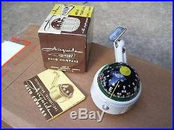 Vintage 50s nos AIRGUIDE dash Compass gauge auto kit gm car old chevy cadillac