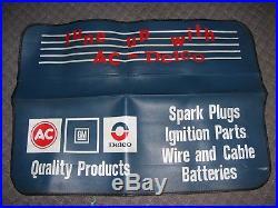Vintage 70s original GM AC Delco CHEVROLET nos promo auto fender rare parts 60s