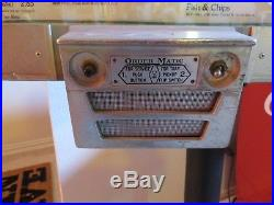 Vintage A&W Root Beer Stainless Drive In Diner Car Hop Light Up ORDER MATIC