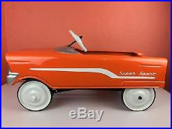 Vintage Antique Western Flyer Pedal Car Toy Advertising American USA Early Hobby