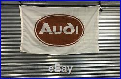 Vintage Audi Dealer Flag 1980s Urquattro Rare