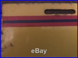 Vintage Auto-Lite Spark Plugs Tin Signs