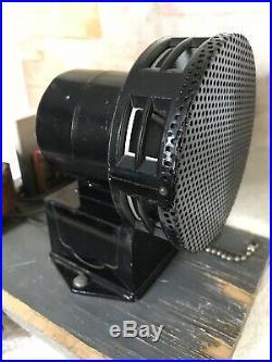 Vintage Automotive Store Display Siren Burglar Car Truck Alarm Works & Very Loud