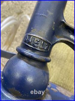 Vintage BAELZ Garage Oil Dispenser Pump locomotive/car garage automobilia