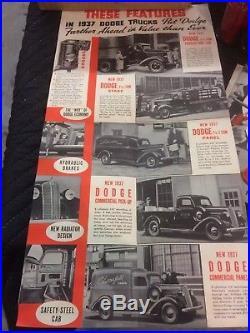 Vintage Barrel lighter for Dodge Trucks NOS Dealer Case Not Porcelain Sign Mopar