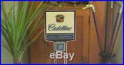 Vintage Cadillac GM Dealers Sign 2 sided Promotional Advertising Salesmans