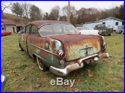 Vintage Car 1955 Pontiac Historic Historical Document Documentation Title VIN