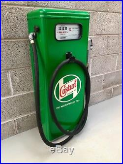 Vintage Castrol Petrol Pump, Gas Pump, Man Cave, Games Room